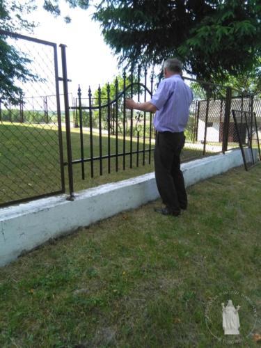 Prace przy ogrodzeniach - VI-VII 2017