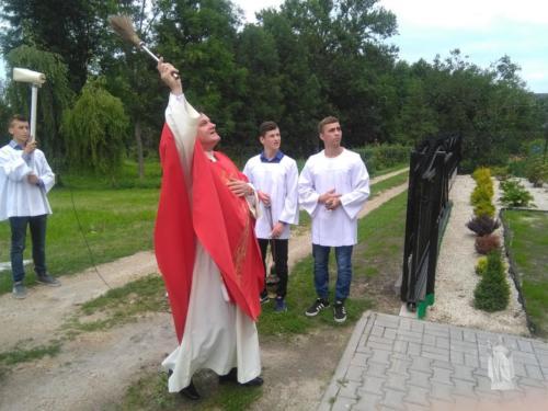 Poświęcenie plebanii i kościoła