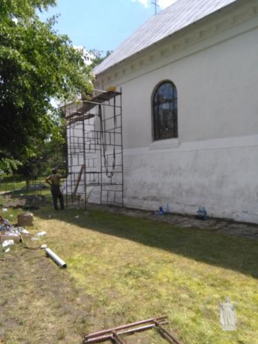 Odnowienie plebanii i kościoła - V-VI 2018